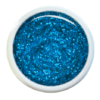Colorgel V54 capri blue glitter