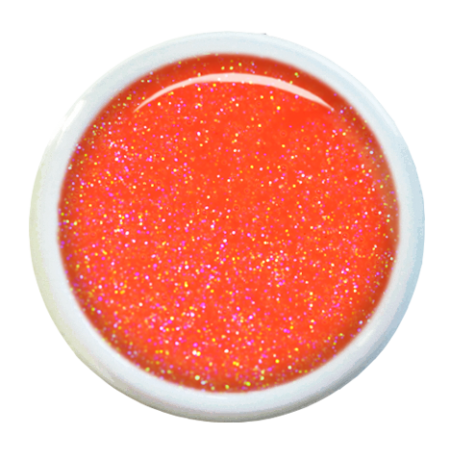 Colorgel V34 neon mandarine shimmer
